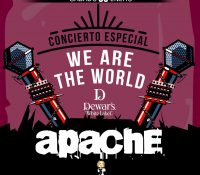 "Concierto Solidario ""We are the world"", Grupo Apache junto al Coro de Cámara de Granada."