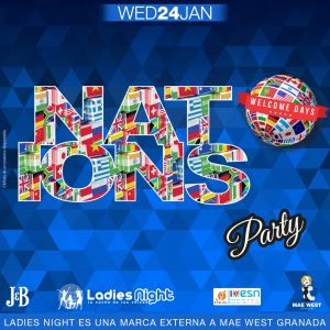 Ladies Night – Nations Welcome Days