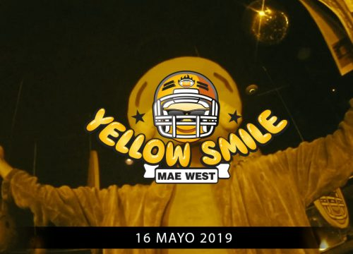 Yellow Smile Mae West